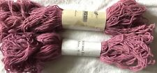 100% Cashmere Yarn for Hand Knitting Gandon Chine Pink Rose