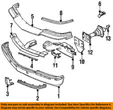 Cadillac GM OEM 93-96 Fleetwood Front Bumper-Rub Strip Left 10156795