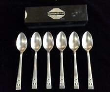 Hampton Court Community Plate boxed set of 6 coffee spoons