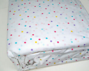 The Big One Home Easy Care 275 Thread Count Party Mini Polka Dot Queen Sheet Set