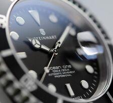 STEINHART OCEAN 1 BLACK (  BRAND NEW  ) Mens Diver Watch T0204 Swiss ETA 2824-2