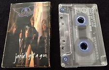 Janie's Got A Gun ~ AEROSMITH (Cassingle) Cassette Tape Single