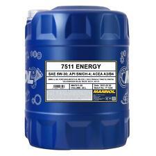 5W30 Motoröl 20 Liter Original Mannol Energy Mb229 Longlife 5w-30 505 502 Dexos2