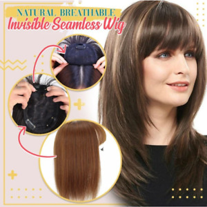 Natural Breathable Invisible Seamless Wig