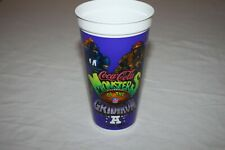 """RARE Coca-Cola NFL Monsters of the Gridiron Collector Plastic Cup Purple 6.5"""""""