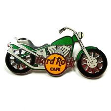 Hard Rock Cafe Green Motorcycle Pin Limited Edition