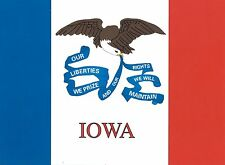 3x5 Iowa State Flag Flag State of Iowa Banner Polyester Grommets FAST USA SHIP