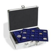 Valisette numismatique pour 112 pièces de monnaie 6 plateaux inclus 306206