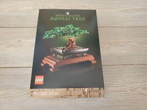LEGO 10281 BONSAI TREE BOTANICAL COLLECTION NUOVO SIGILLATO MISB