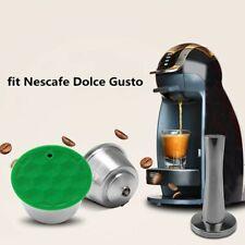 Capsule de dosette de café en acier inoxydable réutilisable pour Dolce Gusto