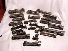 FRANKLIN MINT PEWTER TRAIN ENGINES LOCO'S 27 PIECES