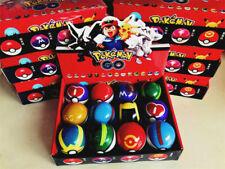 12Pcs/Set Box Pokemon Go Toys Pokeball Figuren Aktion Zufällige Pikachu Geschenk