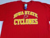 Iowa State Cyclone T-Shirt Mens XL Red ISU Cotton Student Alumni Graduate Tee