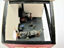 1/72 Scatch Built Blacksmiths Forge Shoeing Shirehorse Diorama - (1987)