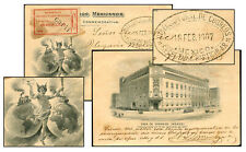 Mexico New Post Office Feb 18 1907 Official Pc-Merida