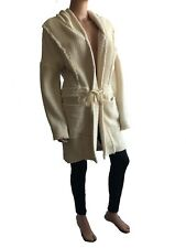 Haute Hippie White Cardigan Jacket  with Hood  Size M