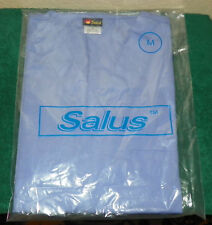 SALUS - NURSING SCRUBS TOP / SHIRT ONLY - SIZE M (LIGHT BLUE)