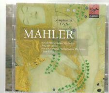 MAHLER SINFONIA N 1 & 9 LITTON & PESEK 2 CD