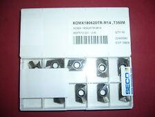 10.Stk Wendeplatten XOMX180620TR-M14 T350M  ***Neu***