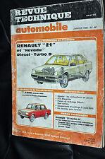 Revue technique automobile Renault 21 diesel n° 487