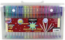 Sargent Art Assorted Gel Pen Set - 100 count