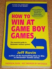 HOW TO WIN AT NINTENDO GAME BOY GAMES - Jeff Rovin -softback book