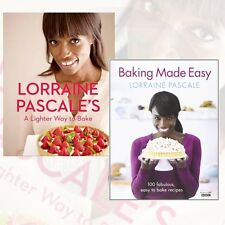Lorraine Pascale 2 Books Collection Set A Lighter Way to Bake,Baking Made Easy