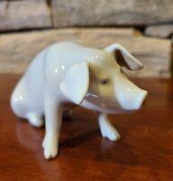 """ROYAL COPENHAGEN PORCELAIN FIGURINE """"Pig"""" 1400 Rare"""