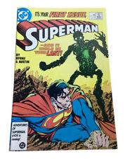 Superman #1 Volume 2 (1987-2006) DC Comics