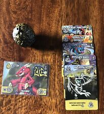 Dragamonz 1 Stonescale Tecton With Cards