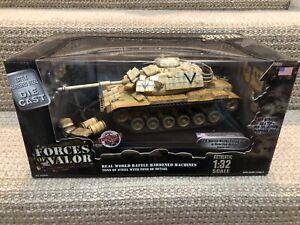 Unimax Forces of Valor 1:32 M60A1 Patton Tank, USMC, Kuwait 1991, No. 80009
