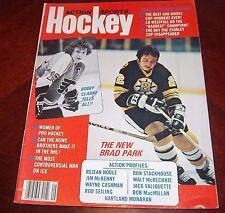 Action Sports Hockey Bobby Clarke / brad Park May 1977