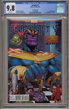 Infinity 1 CGC 9.8 Lim Variant Laughing Ogre Painted Visions Avengers War Thanos
