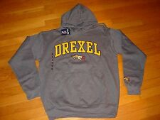 DU DREXEL University  DRAGONS Hooded EMBROIDERED Sweatshirt NEW TAG   XLarge  XL