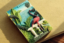 USA Florida Flamingo Reiseandenken 3D Kühlschrankmagnet Reise Souvenir Magnet