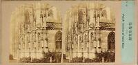 Francia Rouen Eglise Saint-Ouen c1860 Foto Po' di Tempo E Tournier - Vintage
