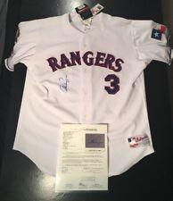 Alex Rodriguez Rangers SZ 48 Auto Autographed Baseball Jersey JSA Certified