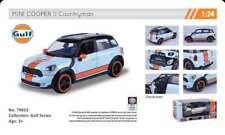 MINI COOPER S COUNTRYMAN GULF LIVERY 1:24 Scale Diecast Toy Car Model Die Cast