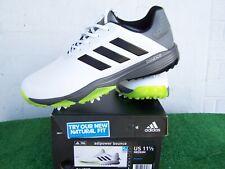 Adidas Golf Adipower Bounce White Us Size 11.5 Medium Waterproof Golf Shoes New