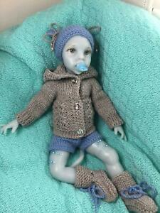 Reborn Avatar Baby Doll Full Silicone Real Touch And Feeling Handmade Realistic