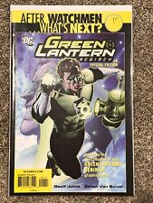 After Watchmen What's Next Green Lantern Rebirth 1 Comic Book DC Special Edition