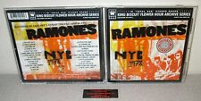RAMONES NYC 27trk 1978 Live King Biscuit 2003 CD Dee Dee Joey Johnny Ramone Punk