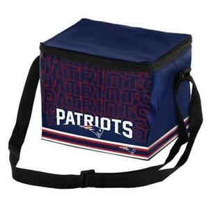 New England Patriots Insulated soft side Lunch Bag Sports Cooler Logo Impact