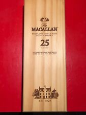 The MACALLAN 25 Years Old Scotch Whisky *BOX ONLY* Collectible Wooden Box