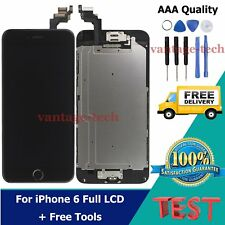 For iPhone 6 LCD Touch Screen Digitizer Display Full Assembly Replacement Black