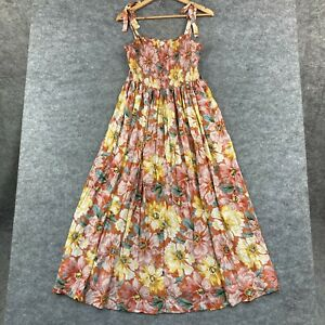 Auguste The Label Womens Dress Size 12 Multicoloured Floral Maxi Flare 265.16