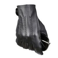 New Men's Genuine Leather Touchscreen Gloves Cashmere Lining (Palm;21-24cm)