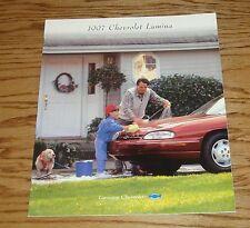 Original 1997 Chevrolet Lumina Sales Brochure 97 Chevy