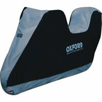 Oxford Aquatex Top Box Motorcycle Cover Large Commuter Bike Protective Accessory