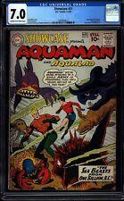 Showcase 31 CGC 7.0 COW Silver Age Key DC Comic 2nd Aquaman SA L@@K IGKC